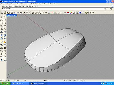 Rhino 3D: Shelling or building wall thickness (Part 1