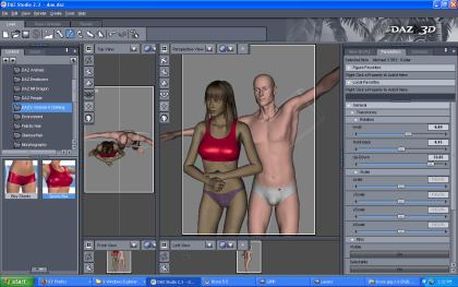daz 3d software download for pc