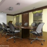 Conference room interior rendering