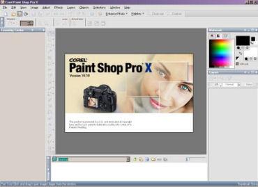 Paint shop pro предлагает очень удобную функцию browse (просмотр), вызываемую командой file=browse (файл=просмотр)