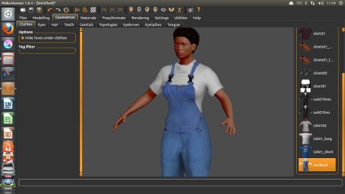 MakeHuman – Free 3D Character Creation Software – Studio Rola