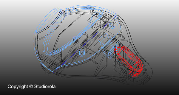 Parametric CAD render