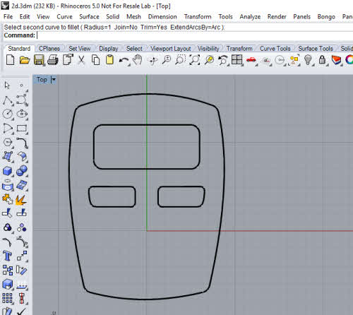 Tutorial: Creating 2D Illustration using Rhino 3D and